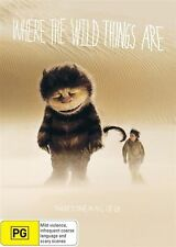 Where The Wild Things Are (DVD, 2010)  New, ExRetail Stock, Genuine D80