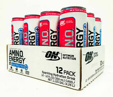 Optimum Essential AMINO ENERGY + Electrolytes Recovery Drink WATERMELON 12 PACK