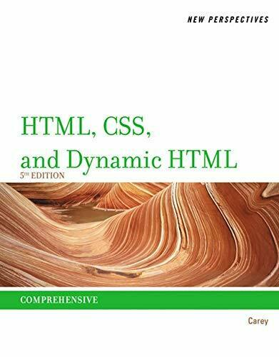 New Perspectives on HTML, CSS, and Dynamic HTML by Carey, Patrick M.