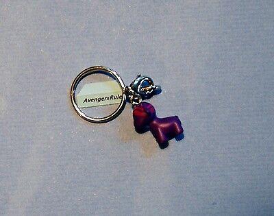 MunnyWorld Crayola Zipper Pull Keychain Series Kidrobot Raffy Purple 2//25