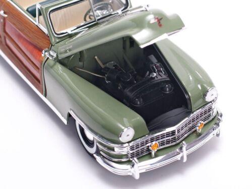 1948 18 amp; Moulé Pression Sous Vert Sunstar Ss6142 1 Chrysler Town Country qEHwHX