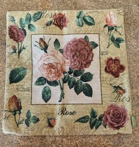 Floral-Romantic-Tapestry-Decorative-Pillow-Home-Decor-Cushion-Cover-Rose-17