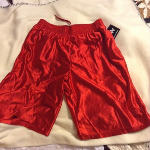 of Hoop RED basket ball shorts w//pockets men size small only 1 left 1pr