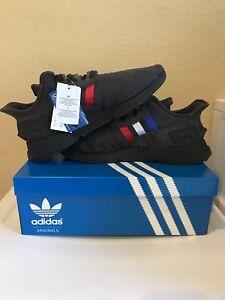 promo code f960a f8cb0 Details about Adidas EQT Cushion ADV Tricolor Mens CQ2378 Carbon Black  Shoes Size 12