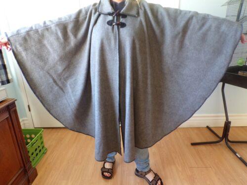 størrelse Coat Cape Grey passer Women's oversize En Cond alle Style Great Northern xTFqzz