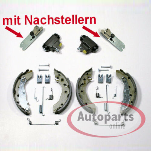 Bremsen Bremsbacken Zubehör Satz mit 2 Nachsteller für hinten Ford Fiesta 4 IV