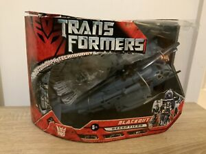 Transformers-Decepticon-Blackout-Premium-serie-Inc-SCORPONOK-in-scatola-vintage-E