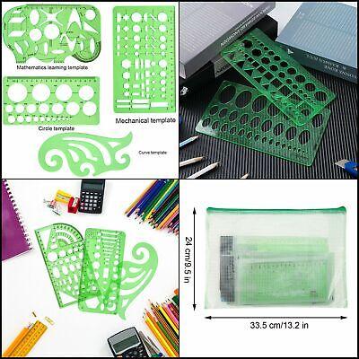 ghdonat.com Quilting 11Pcs Geometric Drawings Building Template ...