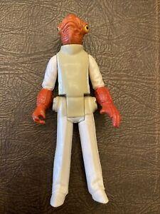 Vintage 1982 Kenner Star Wars Figure Near Complete Rare ROTJ Admiral Akbar Toy