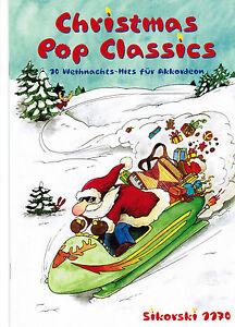 Akkordeon-Noten-Christmas-Pop-Classics-leichte-Mittelstufe-WEIHNACHTEN