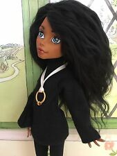 "Custom Monster High Doll Rebecca Steam ""Delia"" OOAK Repaint By: Stargirl23"