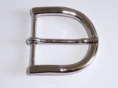 Gürtelschnalle Schließe Schnalle Verschluss  5 cm silber  NEUWARE rostfrei