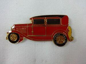 Old-Car-Red-amp-Black-Lapel-Hat-Pin