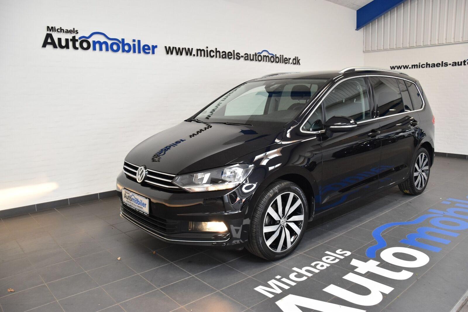 VW Touran 2,0 TDi 150 Highline DSG 7prs 5d - 379.900 kr.