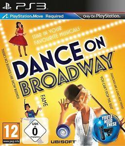 Dance-on-Broadway-Musical-Spiel-fuer-Sony-Playstation-3-Ps3-mit-Move-Neu-Ovp