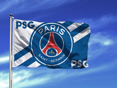 Paris/Saint-Germain Football Club Flags Soccer Logo Banner Flag Indoor and Outdoor Flags Bar//Party Decoration Flag(Paris/Saint-Germain,37.4-25.6in)