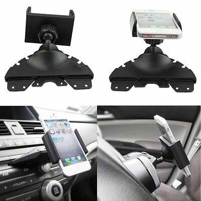 Universal CD Player Slot Smartphone Mobile Phone Car Auto Mount Holder Cradle