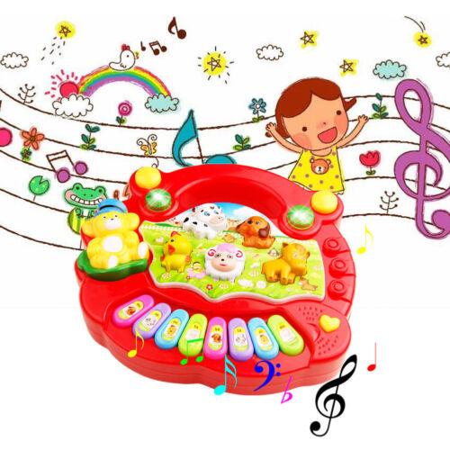 Baby Kids Musical Educational Animal Farm Piano Developmental Music Toy Gift UP