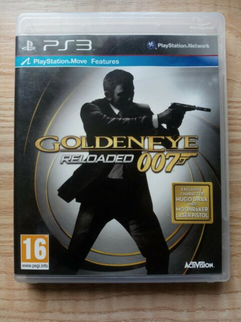 Goldeneye 007: Reloaded - Move Compatible (PS3), Good PlayStation 3 - VGC