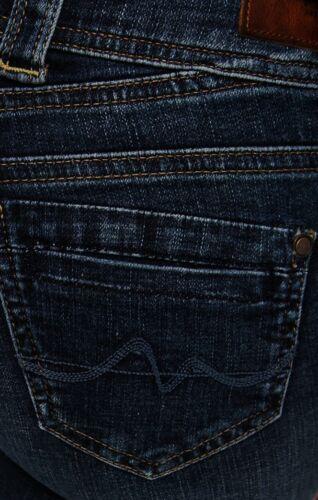 Power Flex W26,28,29,32 L30 Blau Pepe Gen Straight Mid Damen Jeans