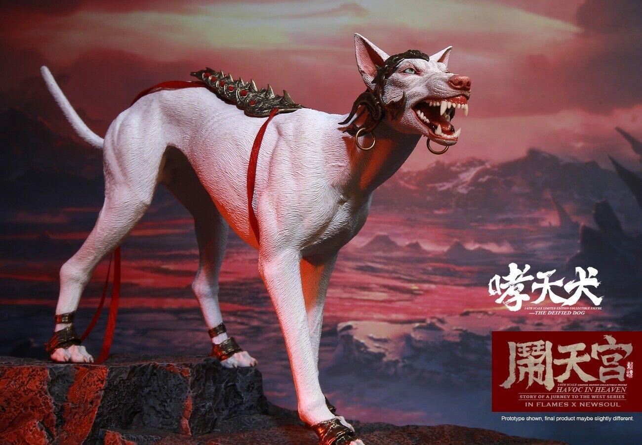 IN FLAMES X NEWSOUL IFT-045 1 6 Deified dog Havoc in Heaven Hunter Pet Figure