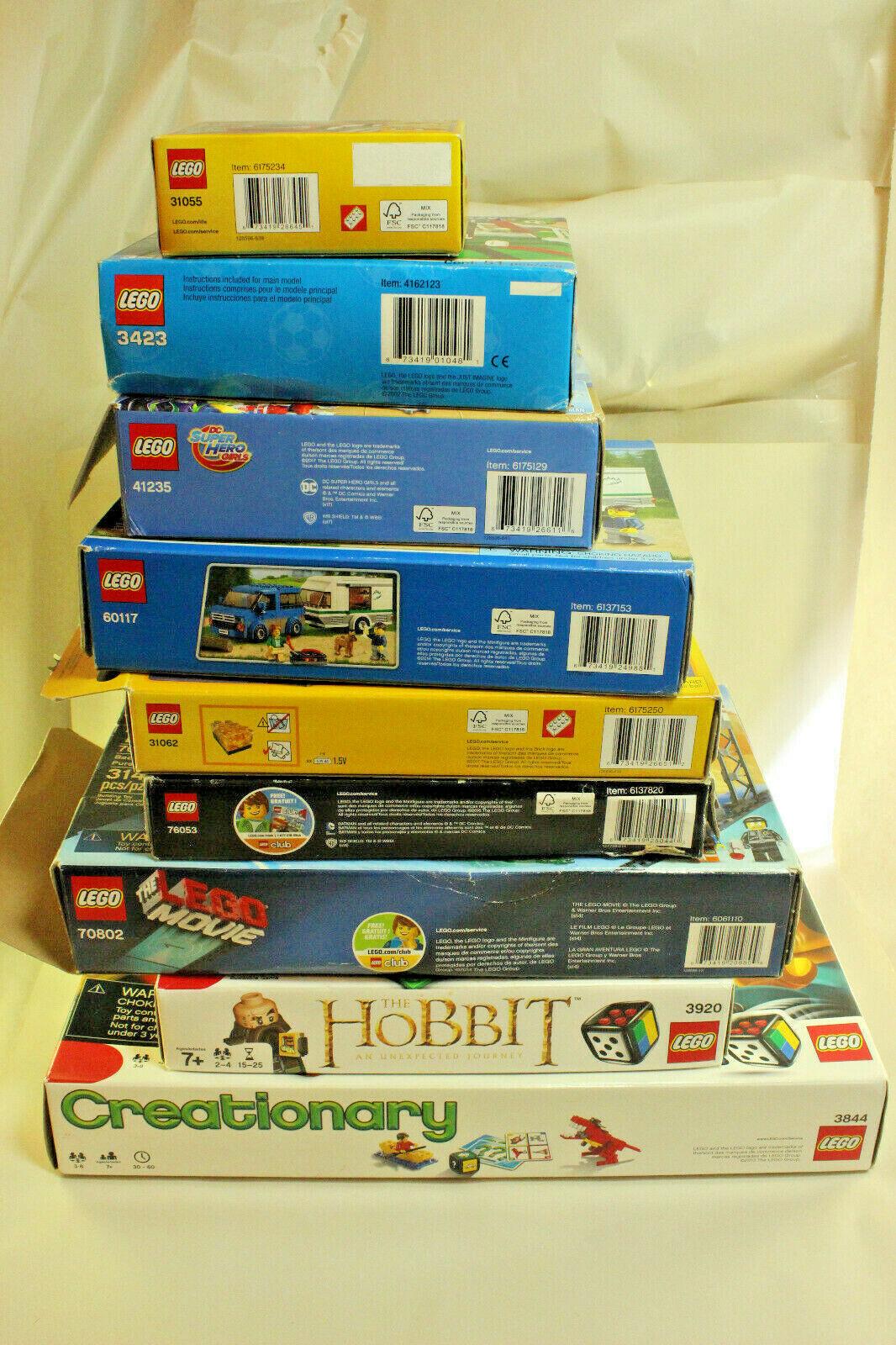 la migliore offerta del negozio online LEGO LOT 9 Wonder donna 41235 DC 31055 31055 31055 3423 60117 31062 76053 70802 3920 3844  Sconto del 40%