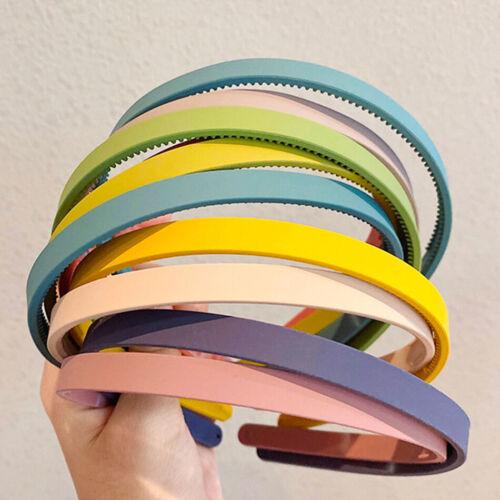 5PCS//Set Women Matte Hairbands Thin Headband Girls Hair Accessories Hair Hoops