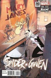 Spider-Gwen-5-Marvel-Comics-2015-Books-A-Million-BAM-Variant-NM-Gemini-Ship
