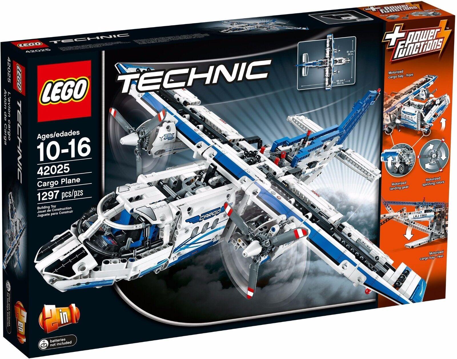 LEGO Technic 42025 Cargo plane - aeroplane / / / boat multi build BNIB retiROT 57f630