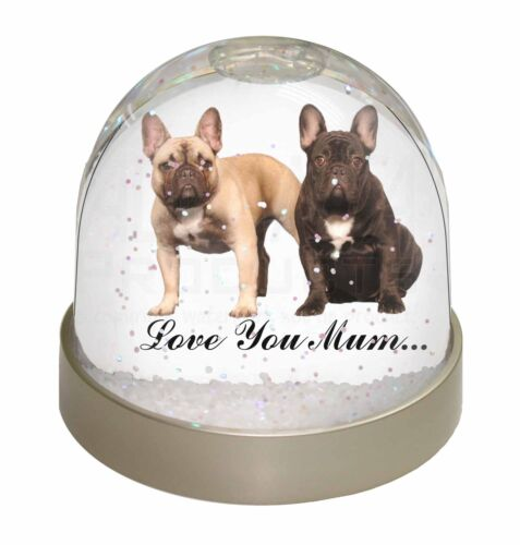 AD-FBD1lymGL French Bulldogs /'Love You Mum/' Photo Snow Globe Waterball Stocking