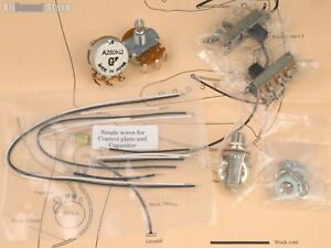 Details about NEW - Wiring Kit for Mustang Guitar COMPLETE & Diagram on