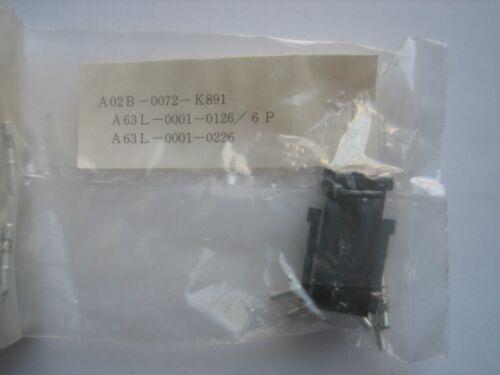 Fanuc A02B-0072-K891 A63L-0001-0126//6P A63L-0001-0226