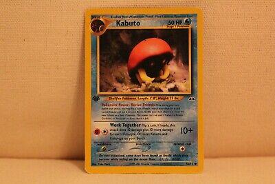 Pokemon Neo Discovery Common Card #56//75 Kabuto