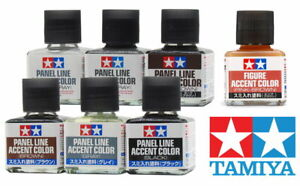 Tamiya-Panel-Line-Figure-Accent-Color-87131-87201-40ml-For-Model-Kit