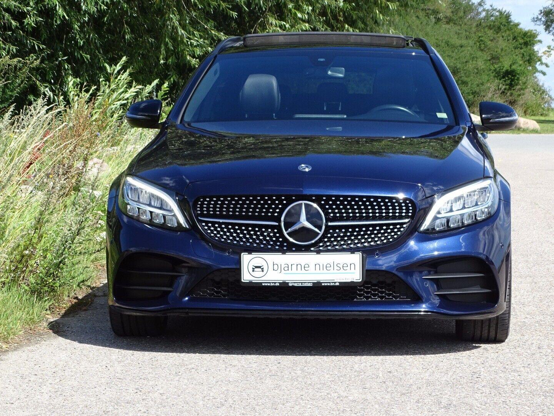 Mercedes C220 d 2,0 AMG Line stc. aut. - billede 2