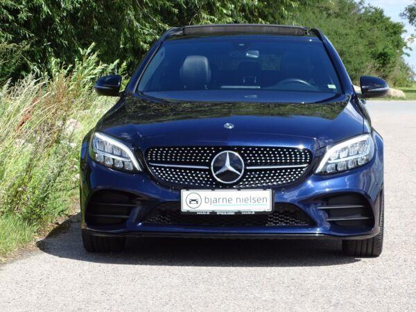 Mercedes C220 d 2,0 AMG Line stc. aut. billede 2