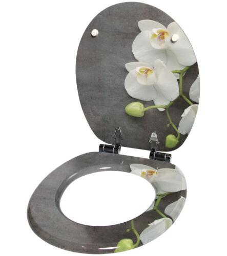 Wc Siège Couvercle De Toilettes Abattant abattant toilettes sièges couvercle avec automatisme de descente Pretty