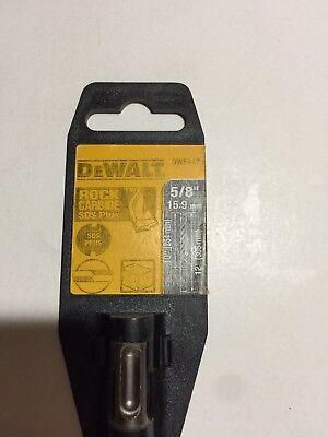 """Dedicated Dewalt Dw5447 5/8"""" X 10"""" X 12"""" Rock Carbide Sds Plus Hammer Drill Bit 4tg47 Drills & Hammers Bits, Chisels & Breaker Points"""