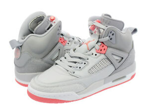 535712-026  AIR JORDAN SPIZIKE SUN BLUSH GREY GIRLS GRADE SCHOOL ... b04ddebd1