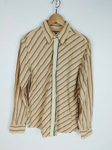 MOSCHINO-JEANS-Camicia-Shirt-Maglia-Chemise-Camisa-Hemd-Tg-L-Uomo-Man
