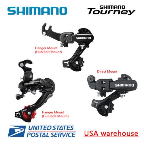 Shimano Tourney RD-TZ31 RD-TZ500 6//7 Speed Direct Hanger Mount Rear Derailleur