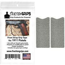 Colt 1911 style Decal Grip//TRACTION Tape-Pack de 2