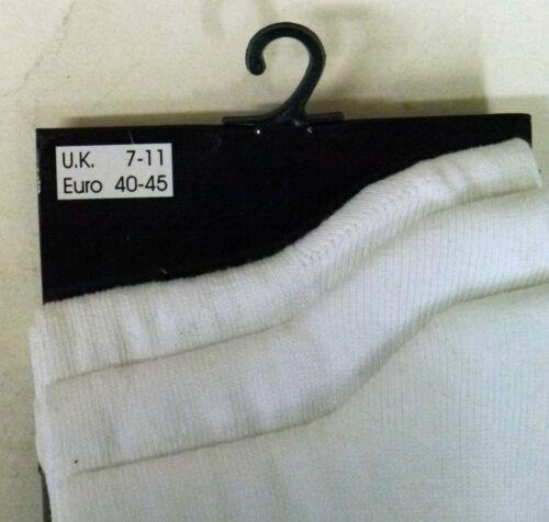 Orizzonte Indietro A Scuola Calzini Nero Navy Bianco 3 PACK cotton Sottile 12.5-3.5 7-11