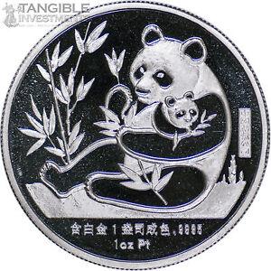 1987-China-Panda-1-oz-Platinum-Medal-New-York-Coin-Expo-Sino-American-RARE