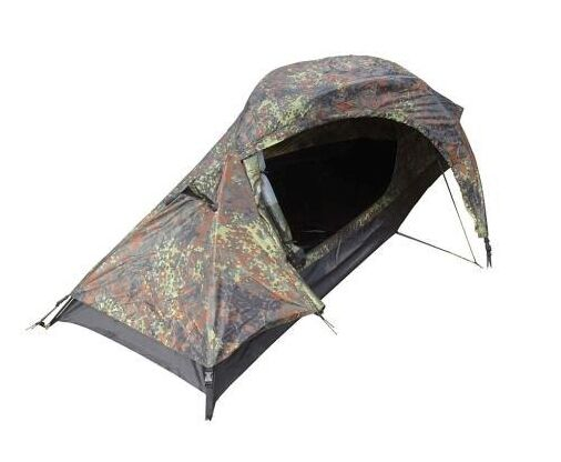 One Man Flextarn Recon Tent - Camo Military Army Camping Wandern Backpacking Neu