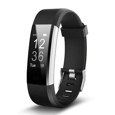 Original ID115 Plus HR Smart Bracelet Wristband Tracker Sleep Heart Rate Monitor