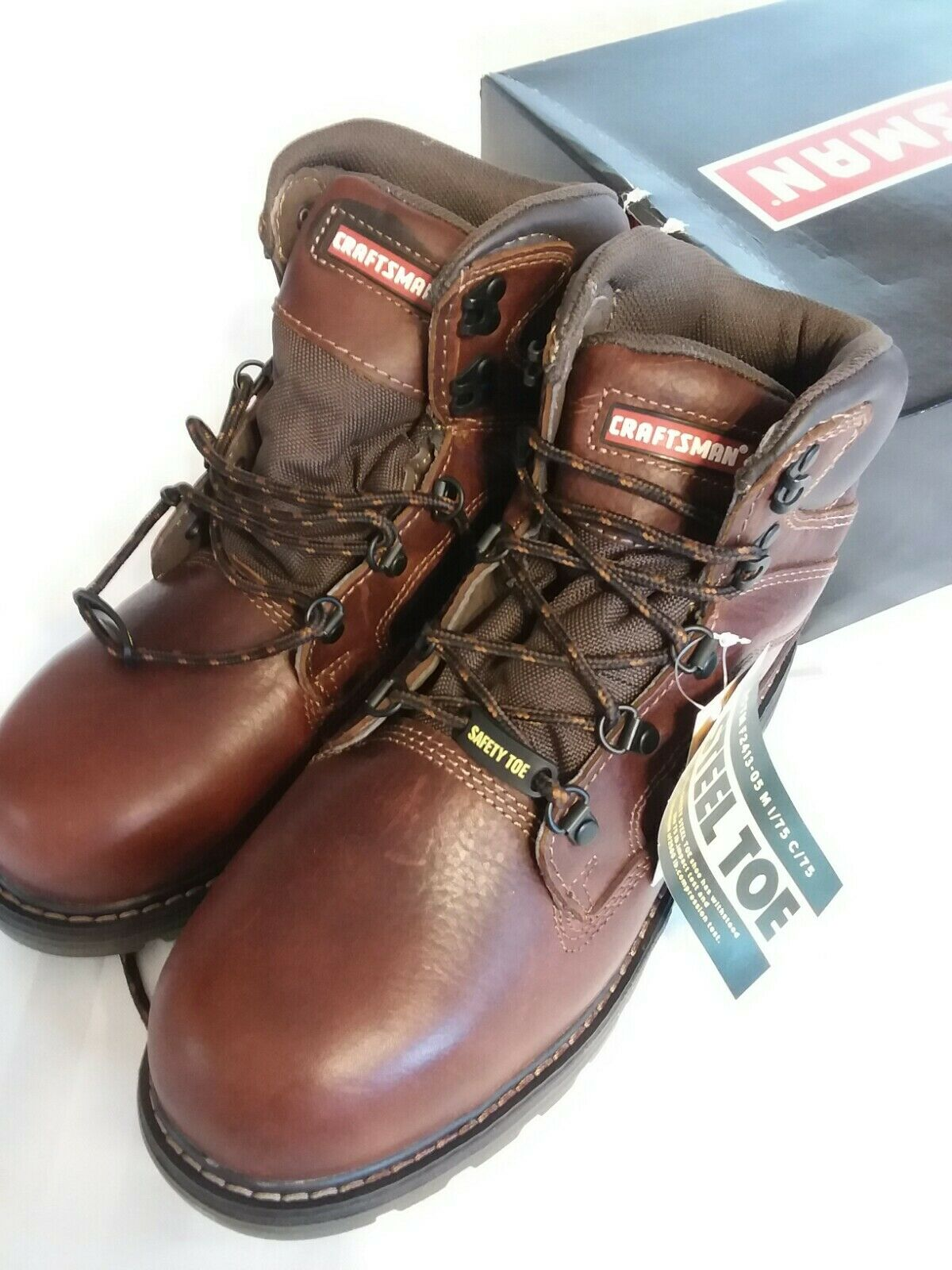 Waterproof Steel Toe Leather Work Boot