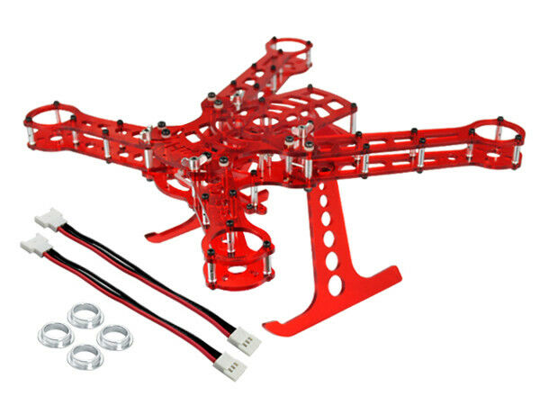 In tuttiuminio  Acrylic Quadcopter Kit Telaio-BLADE 200 QX  ti renderà soddisfatto