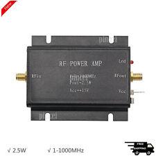 25w Rf Power Amplifier 1 1000mhz Radio Frequency Power Amplifier Black