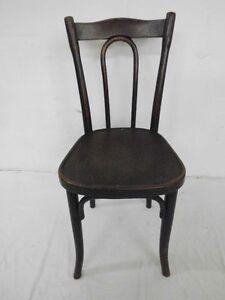 original thonet bugholzstuhl stuhl bistrostuhl kaffeehausstuhl antik um 1900 ebay. Black Bedroom Furniture Sets. Home Design Ideas